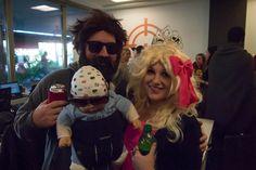 Alan and Honey Boo Boo - Halloween 2012 in Scottsdale Office #DASHalloween