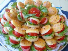 Appetizer Recipes, Snack Recipes, Appetizers, Cooking Recipes, Healthy Recipes, Mini Burgers, Bulgarian Recipes, Food Humor, Party Snacks