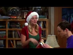 The Big Bang Theory - Pennys Christmas gift to Sheldon