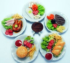 A large gallery of mini food ideas for weddings, parties, and other events; everything from mini burgers and tacos to mini yummy desserts, such as mini pies, cakes, ice cream cones, and milk shakes.