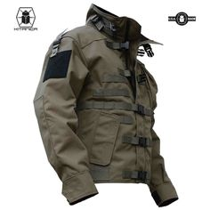 Constructed of 1000 denier CORDURA® , the MARK I jacket is overbuilt to last. It has double layers of CORDURA® on the Elbows, Shoulders and Cuffs for reinforcement. Its remarkable durability is only rivaled by its incredible fit and functionality. Tactical Wear, Tactical Jacket, Tactical Clothing, Military Gear, Military Fashion, Mens Fashion, Fashion Outfits, Combat Jacket, Survival Clothing