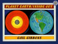 Planet Earth Inside Out Gail Gibbons-Science Mentor Text Earth Science Experiments, Science Books, Science Ideas, Rock Science, Science Party, Science Activities, Science Projects, Gail Gibbons, Moon Book