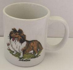 Sheltie Coffee Mug Vintage Cup McCartney Krazy K9 Designs Dog Canine Rosalinde   eBay