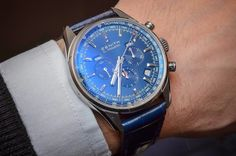 Classic blue---Zenith El Primero 410 Triple Calendar and MoonPhase