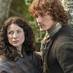 Jamie y Claire Imagen de Pinterest #JamieFraser #ClaireFraser #JamieClaire #Outlander