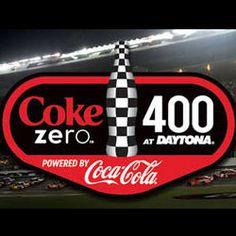 Coke Zero 400 #NASCAR race in Daytona!