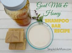 Goat Milk and Honey Shampoo Soap Recipe - Simple Life Mom