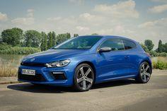 2014 Volkswagen VW Scirocco R (Facelift) in rising blue metallic