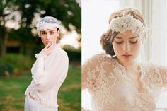 Different Wedding Headpieces for Girls Inborn with Respective Natures (1)