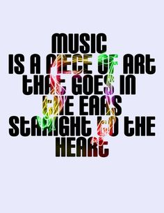 Music is Art 8�10 Typography print by jessiemichelle on Etsy, $10.00    %u2014    jessiemichelle in Ocean Springs, Mississippi