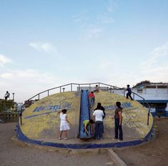 The Playgrounds of Previ, Aldo van Eyck, Lima Peru, 1974 | Playscapes