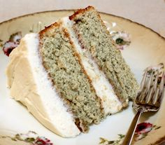 Banana Layer Cake with Cream Cheese Frosting @Kimberly Trumble here's something to make with those bananas! :)