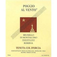 1998 Col d'Orcia Poggio al Vento Brunello di Montalcino Riserva.  In February 2012, gorgeous, chill-inducing wine.  What Brunello is supposed to be.