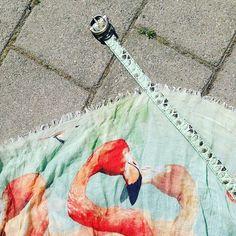 Summer Modus in mint // Belt: Buckles & Belts pitone / Scarf: hüftgold berlin