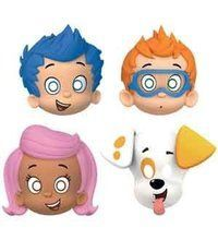 Bubble Guppies Paper Favor Masks Accessory 8 Per Package Birthday Party Supplies Bubble Guppies Party Supplies, Bubble Guppies Birthday, Mask Party, Party Hats, Party Favors, Paper Mask, Guppy, American Greetings, Character Design