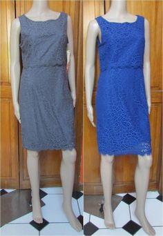 Lapis Lace Dresses Size Large- Blue or Gray, NEW #Lapis #Sheath #WeartoWork