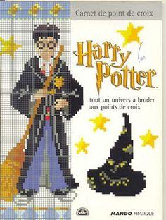 ENCANTOS EM PONTO CRUZ: Harry Potter