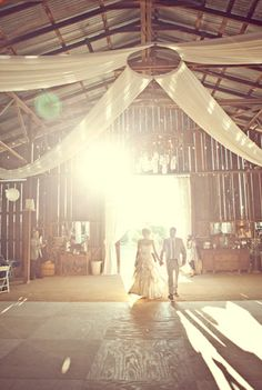 Barn decor - so pissed that barn weddings are trendy. I've wanted one since I was like five. Ugh.
