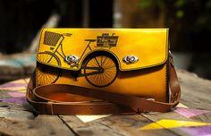 Bogdan Deliu - Handmade Leather Bag - Snejanka v1