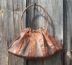 Lotta Rahmes beautiful fish skin craft