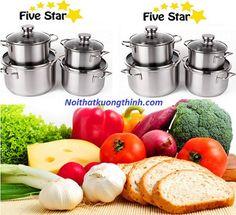 Bộ nồi Fivestar 4 chiếc được rất nhiều người Việt ưa chuộng