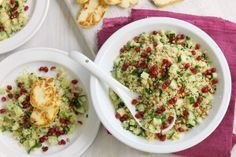 Jewelled couscous salad with haloumi