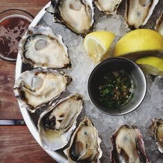 oyster mix from Hog Island