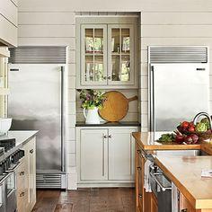 New Old Lakefront Kitchen Kitchen Details: Mini Bar - New Old Lakefront Kitchen