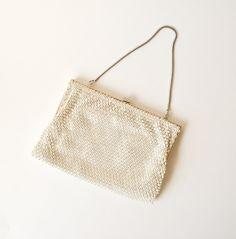 vintage 1950s ultra glamorous rhinestone clutch purse