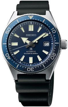 @seikowatches Prospex Watch Diver Pre-Order #add-content #basel-17 #bezel-unidirectional #bracelet-strap-rubber  #case-depth-13-8mm #case-material-steel #case-width-42-6mm #classic #date-yes #delivery-timescale-call-us #dial-colour-blue #gender-mens #limited-code #movement-automatic #new-product-yes #official-stockist-for-seiko-watches #packaging-seiko-watch-packaging #pre-order #pre-order-date-30-11-2017 #preorder-november #style-divers #subcat-prospex #supplier-model-no-spb053 #warrant...