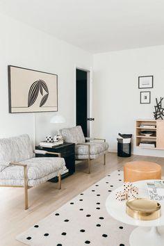 blogger anne sage's LA home. / sfgirlbybay