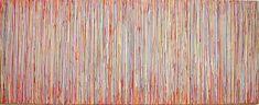 "Eric de Nie, ""Da Capo al Fine"", acryl, 2003, 100 x 250 cm"