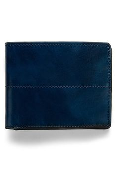 J. Fold 'Thunderbird' Leather Wallet