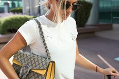 Gucci Dionysus bag with yellow trim