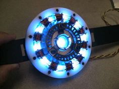 Attractive 1 : 1 Scale Cosplay Prop Arc Reactor Desk Lamp Decorative Action... ($99) ❤  Liked On Polyvore Featuring Home, Lighting, Desk Lamps, Arc Light, Arc U2026