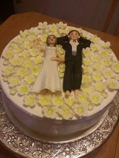 Wedding cake. Irma's cookies by  Irma Garcia