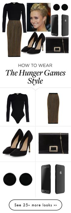 """Untitled #999"" by cheresh on Polyvore featuring Michael Kors, Balmain, Roger Vivier and AeraVida"