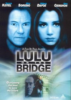 Available in: DVD.A mysterious stone leads jazz saxaphonist into a world of intrigue in Trimark Home Video's release of Paul Auster's Lulu On The Bridge Harold Perrineau, 1990s Movies, Paul Auster, Mira Sorvino, Gina Gershon, Willem Dafoe, Film Watch, Feature Film, Yorkie
