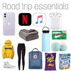 Travel Bag Essentials, Travel Necessities, Road Trip Essentials, Travel Bags, Car Travel, Time Travel, Travel Ideas, Travel Packing Checklist, Road Trip Packing List