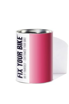 Fix Your Bike. Monochrome Magenta graphic pattern. 7 piecegraphic adhesive kit designed by tagmi to protect and personalize man or woman bike frame. www.fixyourbike.it #FYB #DIY