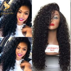 Unprocessed virgin curly silk top full lace human hair wigs with baby hair brazilian 4*4 sik base lace front wig for balck women