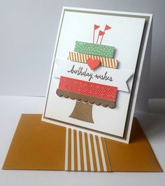 Build a birthday stamp set 2015/2016 New annual stampin Up catalogue