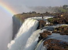 Devil's Pool – Victoria Falls From Livingstone Island. (Photo by Greg and Ashley) http://avaxnews.net/wow/Devils_Pool.html
