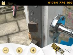 24 hour local locksmiths in Egham and surroundings