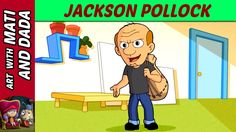 Art with Mati and Dada – Jackson Pollock | Kids Animated Short Stories i...