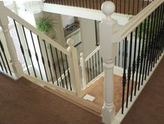 Stair Care de traponderdelen specialist!: Balustrade renoveren Entrance, Flooring Ideas, Wood Flooring, Stairs, Dodge Chargers, Staircases, House, Home Decor, Houses