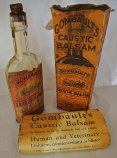 Vintage Bottle And Cork with Literature by DomesticTitanVintage