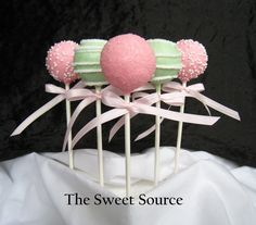 Cake Pops Baby Shower Cake Pops Made to Order by TheSweetSource, $22.00
