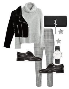 """Untitled #23277"" by florencia95 ❤ liked on Polyvore featuring Alexander Wang, Madewell, Yves Saint Laurent, The Kooples, Daniel Wellington and Gucci"