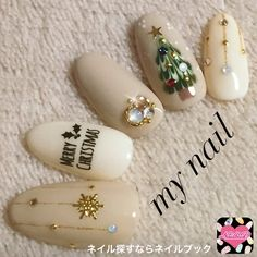 Who doesn't love properly manicured and well-groomed christmas nails. Ensuring you get as creative with your christmas nails as you are with your clothes is the industry of christmas nail art designs. Today, the. Nail Art Noel, Xmas Nail Art, Christmas Nail Art Designs, Holiday Nail Art, Xmas Nails, New Year's Nails, Christmas Nails, Glitter Nails, Hair And Nails